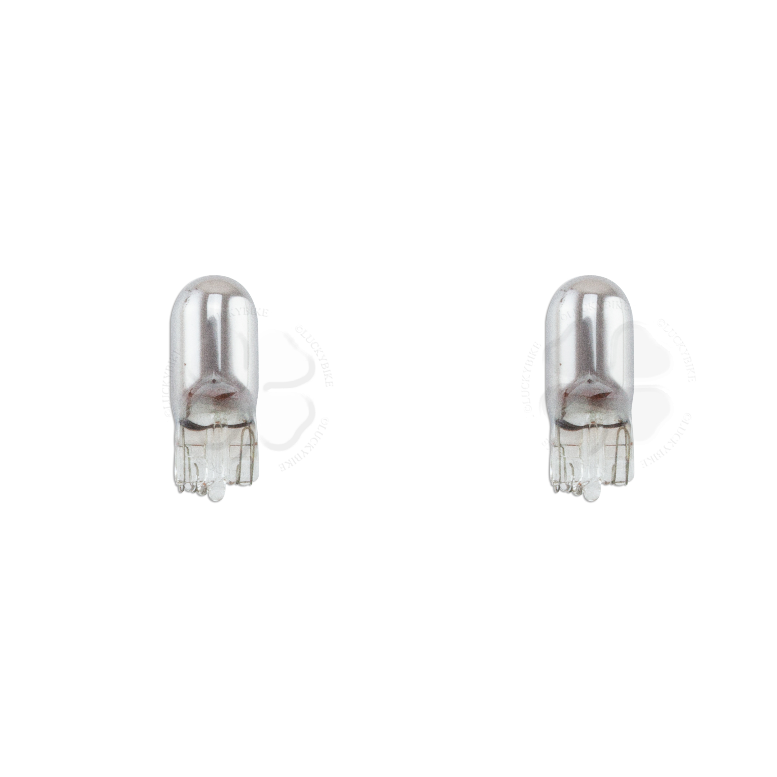 Bulb - T10 194 - 5w Small Wedge - Chrome x1 (x2)